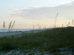 St. George Island, Florida at Sunset